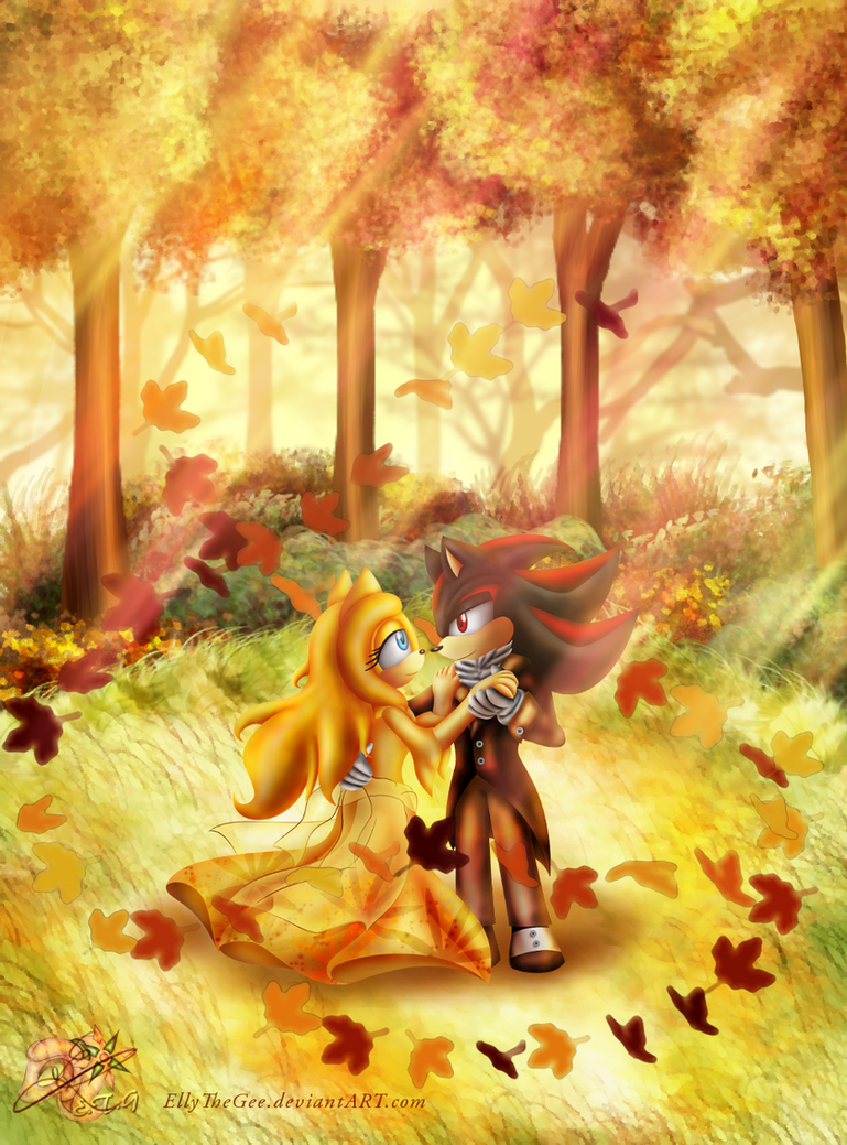 Special Season Theme No. 43 - Autumn Waltz by EllyTheGee