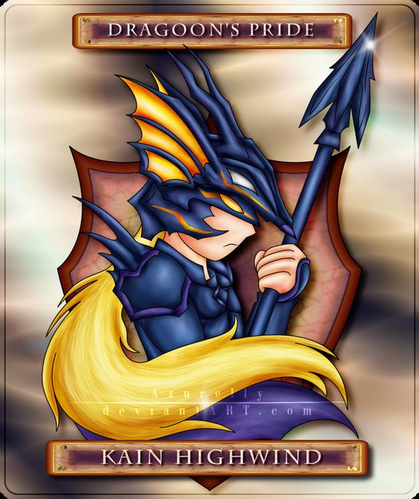 Dragoons Pride Kain Highwind By Azurelly On Deviantart