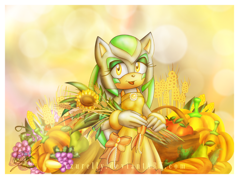 Happy Harvest Festival! (Thanksgiving) by Azurelly