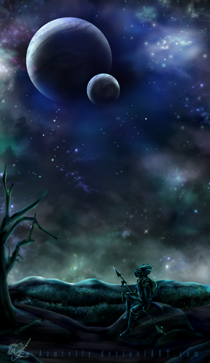 - Lone Dragoon - by Azurelly