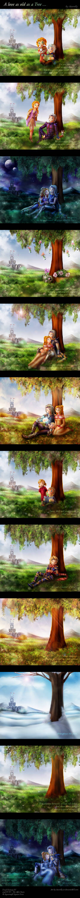 FF IV Story - A love as old as a Tree