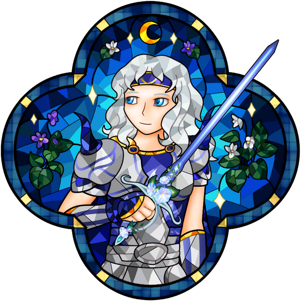 Stained Glass Hero - Cecil