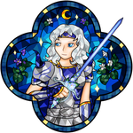 Stained Glass Hero - Cecil by Azurelly