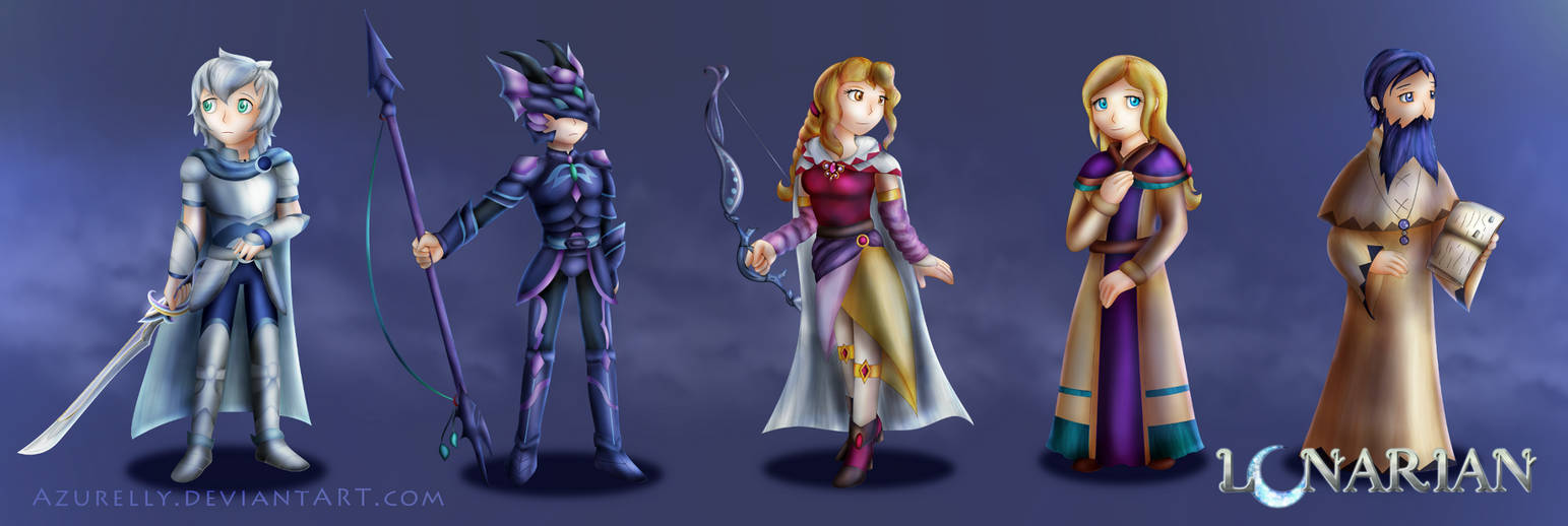 Project LUNARIAN: Characters