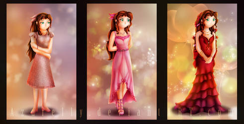 Aerith's dresses