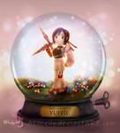 Snowglobe: Yuffie by Azurelly
