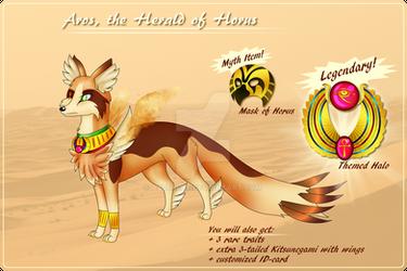 Adopt (CLOSED!) - Aros, the Herald of Horus
