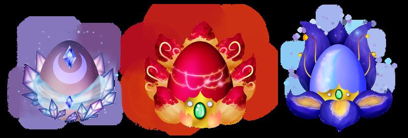 Kitsunegami Easter Eggs
