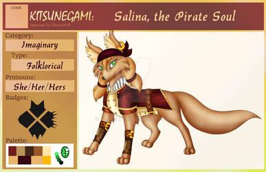 Pirate Kitsunegami ID card - Salina