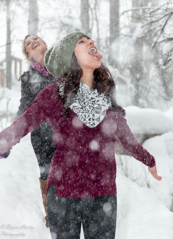 Catching Snow by AlaskaPhotoSports