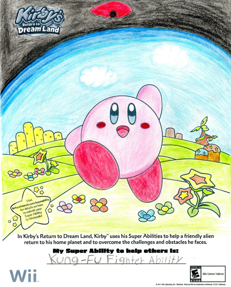 Coloring pages kirby -  Kirby Coloring Sheet By Chino Spike