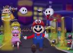 Mario in the city