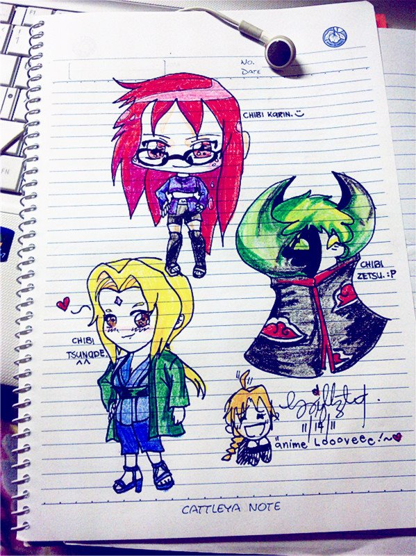 Chibi Naruto Shippuden Characters By Makemely