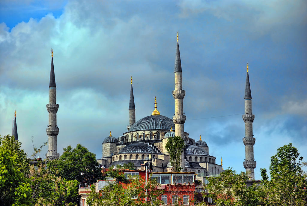 Blue Mosque by mfturkuaz
