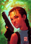 Lara Croft-Fan Art by kollyo