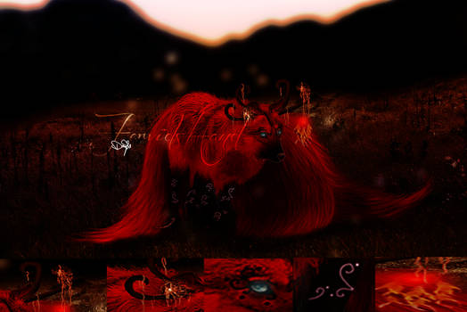 Vermillion twilight