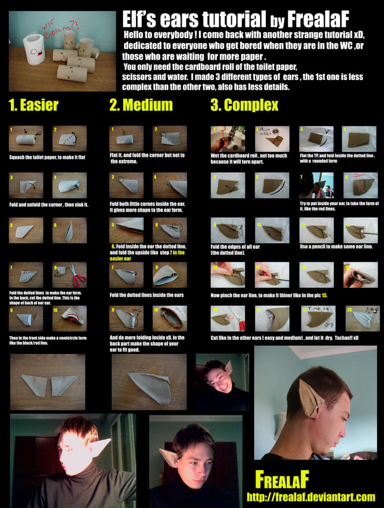 Elf's Ears Tutorial by FrealaF