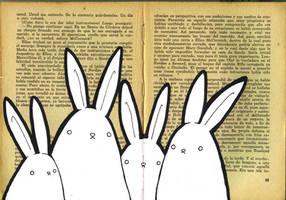 book bunnies by FrealaF