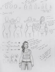 how i draw girls - tutorial