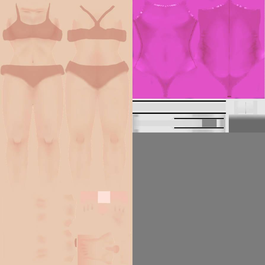 5f0e8e4ce9494 Pink Custom Swimsuit by Symmetricallife on DeviantArt