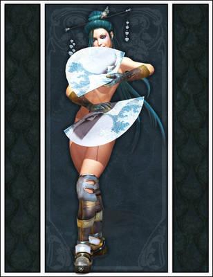 Nouveau Geisha by arien