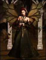 The Fae Queen by arien