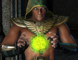 The Emerald Healer by arien
