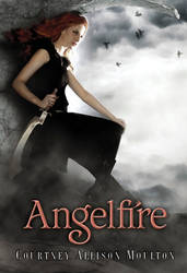 My book cover: ANGELFIRE