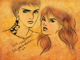 ANGELFIRE Art: Ellie and Will