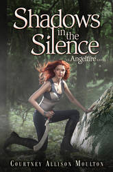 SHADOWS IN THE SILENCE Book Cover by courtneyallison