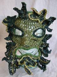 Green Man Mask