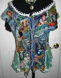 Mermaid Blouse, front