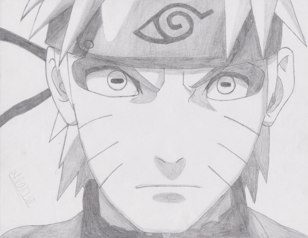 Naruto Drawing: Naruto Uzumaki (Sage Mode) by ...