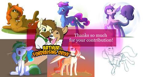 Arthur Fundraiser Contributions