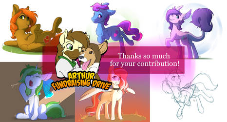 Arthur Fundraiser Contributions by Brownie97