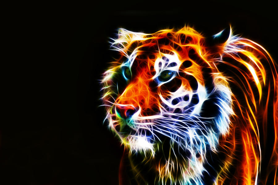 Fractalius Tiger IV by megaossa on DeviantArt