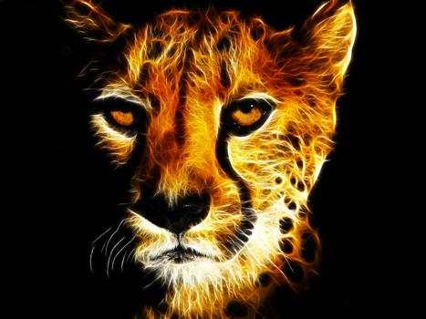 Fractalius Cheetah Face