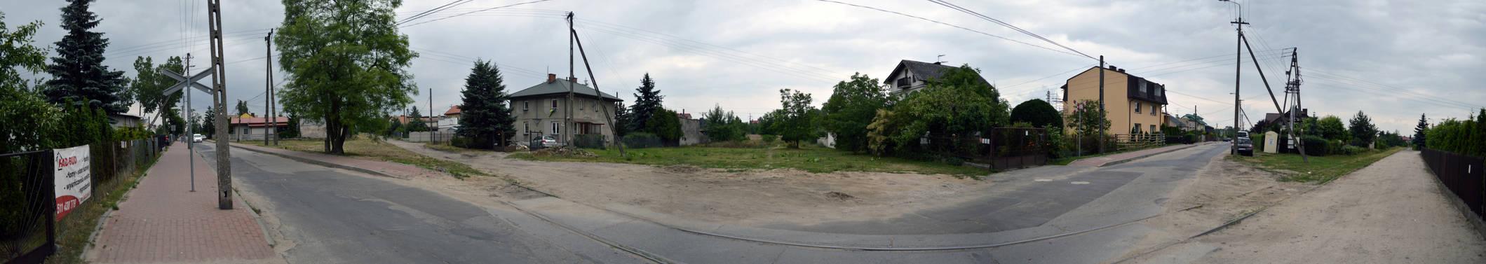 Ulica zielona w Plocku