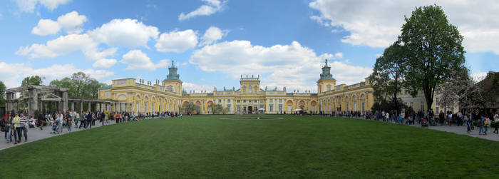 The Wilanow Palace Museum by megaossa