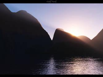 Lovely Sunset by foka1808