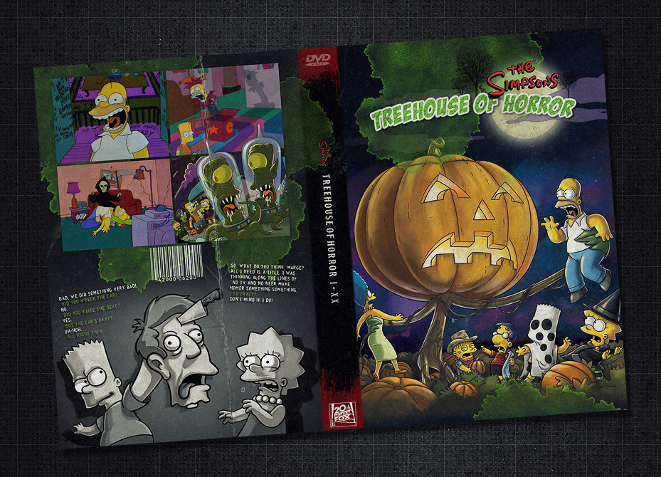 Treehouse of Horror DVD case by TheAL on DeviantArt