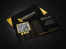 Studio Next Door Business Card