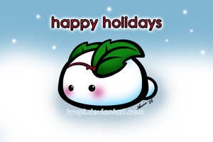 Holiday Snow Bunny by kyupi