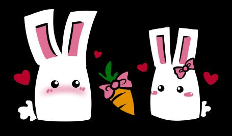 bunnies on valentines daykyupi on deviantart, Ideas