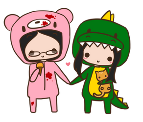 My Favorite Kigurumi Pair by kyupi