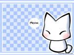 Kitty Meow Wallpaper