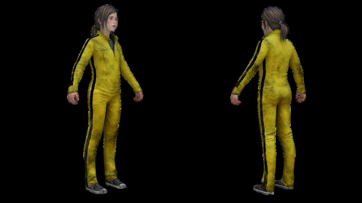 TLOU (PS4) : Ellie Jumpsuit by akderebur