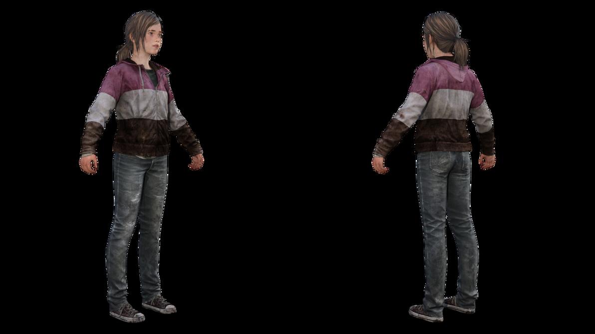 TLOU (PS4) : Ellie Raincoat by akderebur