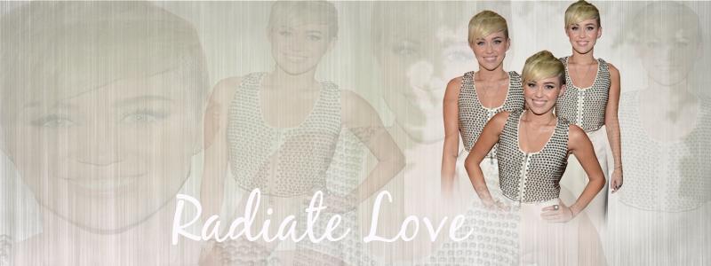 +Radiate Love Portada by MiliDirectionerJB
