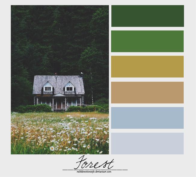 Forest {Palette} by MiliDirectionerJB